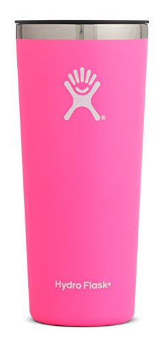 Hydro Flask 22 oz Double Wall Vacuum Insulated Stainless Steel Travel Tumbler Cup with BPA Free Press-In Lid, Flamingo