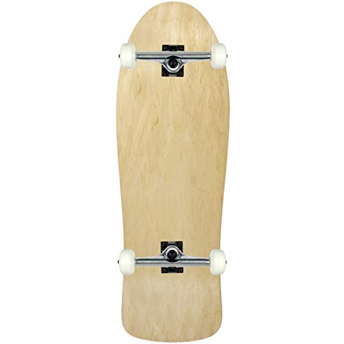- Moose Old School Complete Skateboard (Natural, 10