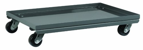 Akro-Mils LVDMOBILE Mobile Kit for 30676 Double Sided Louvered Steel Floor Rack, Grey by Akro-Mils
