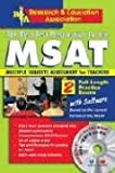 MSAT - The Best Test Preparation for the MSAT, Archibald Sia and Linda Bannister, 0878913386