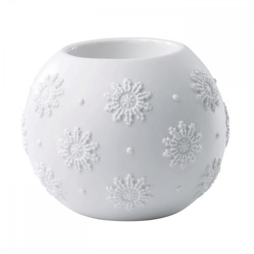 Wedgwood Snowflake Votive Christmas Ornament, 2.8