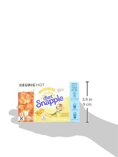 Keurig K Cups Snapple, Diet Lemon Iced Tea , 72 Count by Snapple (Image #11)