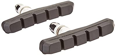 Diamondback Low Profile Threaded Bicycle Brake Pads, Black