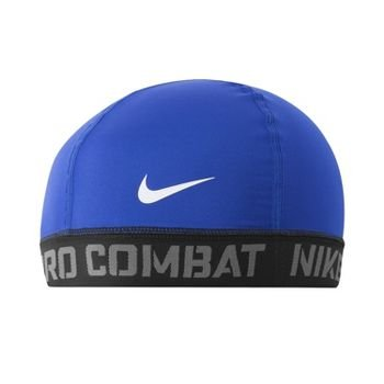 Nike Pro Combat Banded Skull Cap 2.0 (One Size Fits Most, Game Royal)