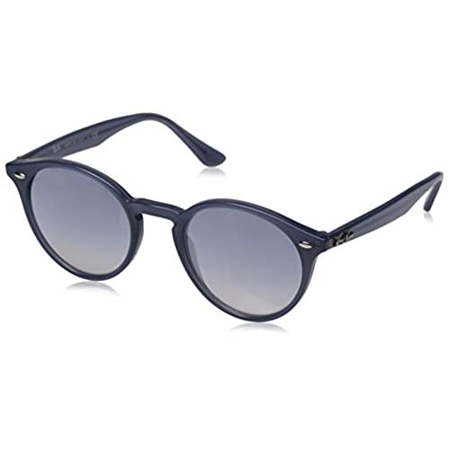 c7bae740d9 ... discount code for ray ban injected man sunglass opal dark azure frame  clear grad blue mirror