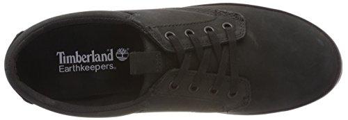 Ox Glstbry Ek Timberland Women's Low Sneakers Top Black 88qzSr