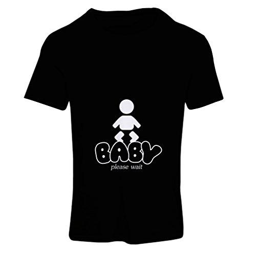 Avec Maternité Énonciations shirt T Des De Chemises Blanc Femme Baby Noir Loading Drôles qFWv8Zq