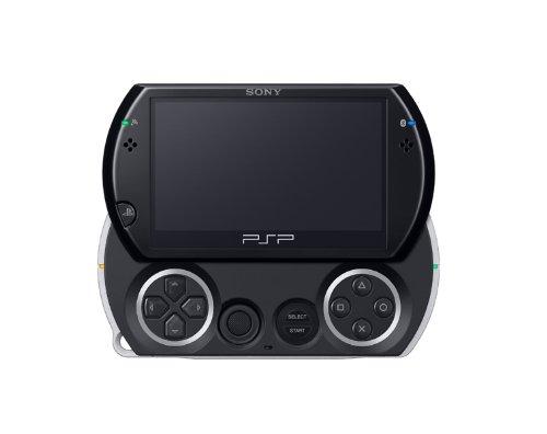 PSP go「プレイステーション・ポータブル go」 ピアノ・ブラック (PSP-N1000PB)