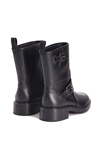 Black 5 Biker Womens Size 38 Hogan BOOTSH332 Leather in ZUqnx6t6w