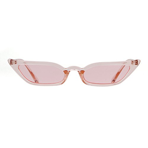 Vintage Sunglasses Women Cat Eye Candy lens Valentine's Day gift by ADEWU (Image #7)