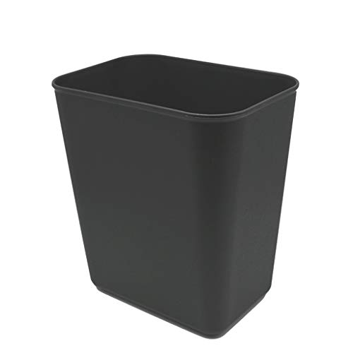 ASJHK 14L-Home Fireproof Plastic Flame Retardant coverless Toilet (Black) (Color : A, Size : -
