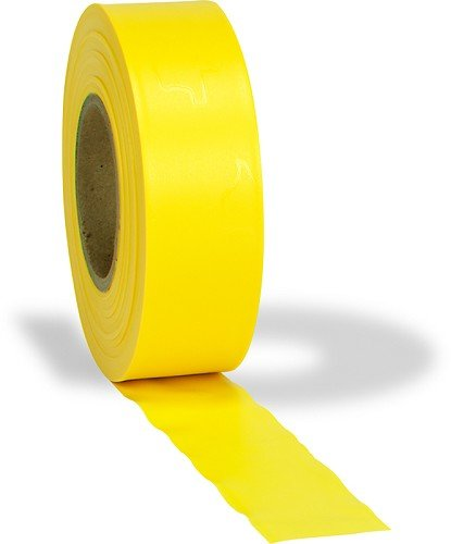 Yellow Vinyl Flagging Roll