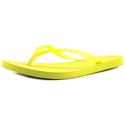 Open Slim Toe Yellow Beach Womens Revival Havaianas EqBnwFv5