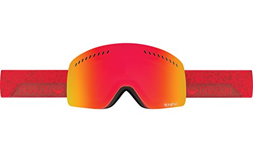 Dragon Alliance NFXS Stone Ski Goggles,RED ION/AMBER