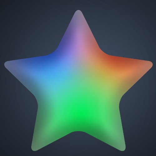 Colour Changing Led Star Lights - 2