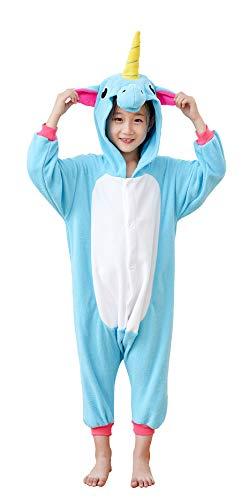 Unicorn Onesie Pajamas Kids Animal One Piece Costumes Homewe