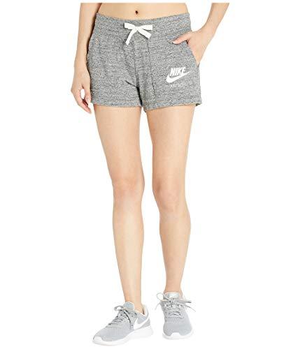 Nike Women's NSW Gym Vintage Short, Carbon Heather/Sail, X-Large