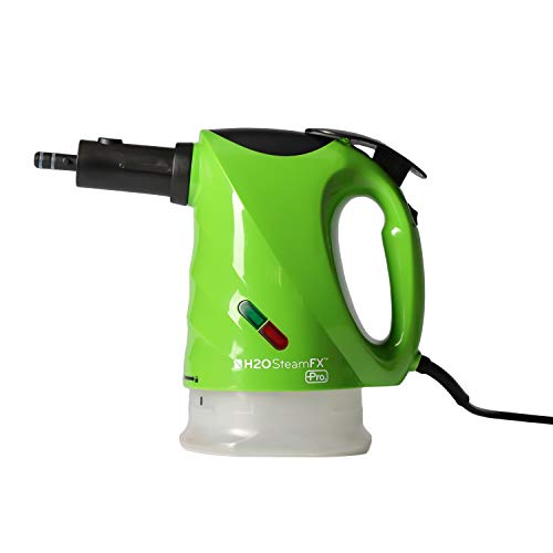 H2O SteamFX Pro Hand Held and Portable Steam Cleaner System for Home Use