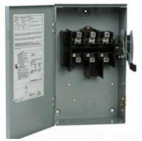 Eaton DG323UGB 3 Wire 3 Pole Non-Fusible B Series General-Duty Safety Switch 240 Volt AC 100 Amp NEMA 1