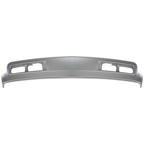 Lower Air Deflector compatible with Chevrolet Silverado 99-02/Tahoe 00-06 Front Primed W/Fog Light and Tow Hook Holes