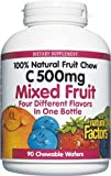 Natural Fruit Chew Mixed Fruit 90 Tabs