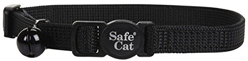 Breakaway Collar Cat-black