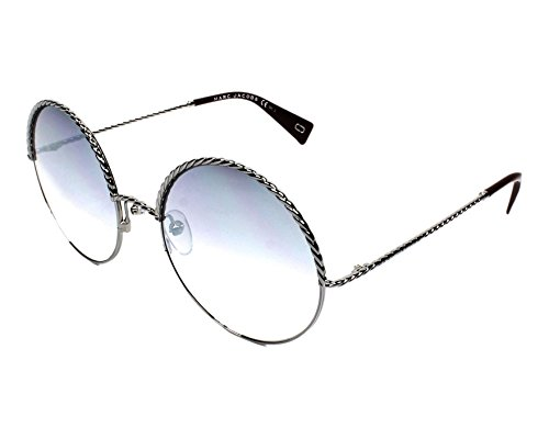 - Marc Jacobs Women's Marc169s Round Sunglasses, RUTHENIUM RED/GRAY MS SILVER, 57 mm