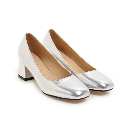 Compensées Sandales Silver 5 APL10786 Femme BalaMasa Argenté 36 OzHwSqxBn