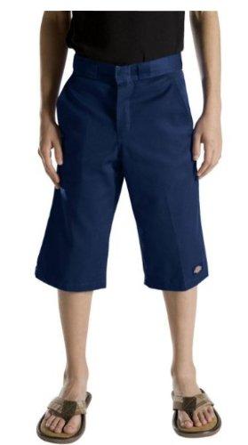 Dickies Big Boys' Flex Waist Short With Extra Pocket, Dark Navy, 10