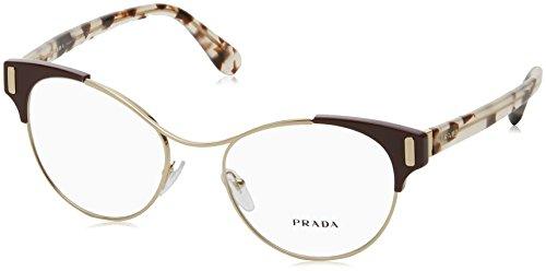 Prada Women's 0PR 61TV Pale Gold/Amaranth One ()