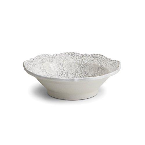 Arte Italica Merletto Antique Cereal Bowl, Cream