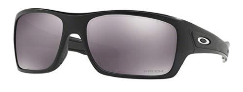 Oakley Turbine OO9263 926342 63M Matte Black/Prizm Black Sunglasses For Men+BUNDLE with Oakley Accessory Leash ()