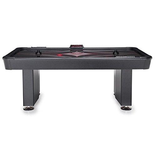 American heritage billiards shadow air hockey table in for Black diamond motorized screen price