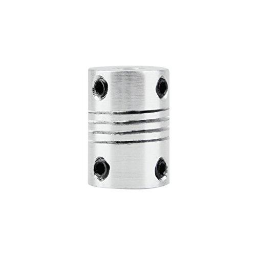 AMZVASO - 6x6mm CNC Motor Jaw Shaft Coupler 6mm To 6mm Flexible Coupling OD 16x23mm Top Sale ()