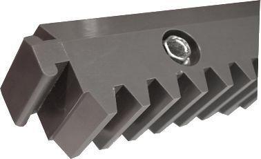 ALEKO 5NGRACK33 Nylon Gear Racks for Sliding Gate Opener Operator Set of 5 3.3 Foot Racks Total 16.5 Feet