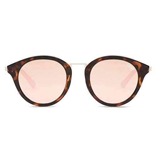 Quay Australia X Nabilla Gotta Run Sunglasses in Tortoise Frame, Rose Lens, One ()