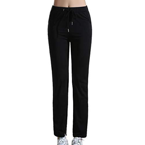 De Pantalon Pantalons Loisirs l Yoga B Femmes Baosity S Noir Fitness Pantalons 6B6OwI