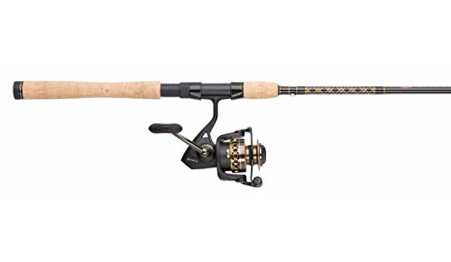 Penn BTLII4000701M Battle II 4000 Spinning Reel Combo, Inshore, 7 Feet, Medium Power (Best Inshore Rod And Reel)