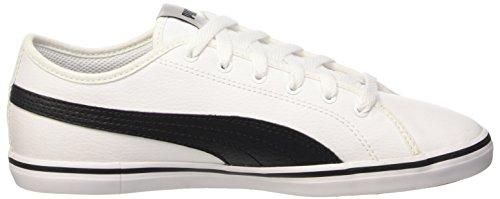 Puma Jr Sl V2 Elsu Sneaker, Blanco y Negro, 4