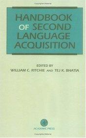 Download Handbook of Second Language Acquisition pdf