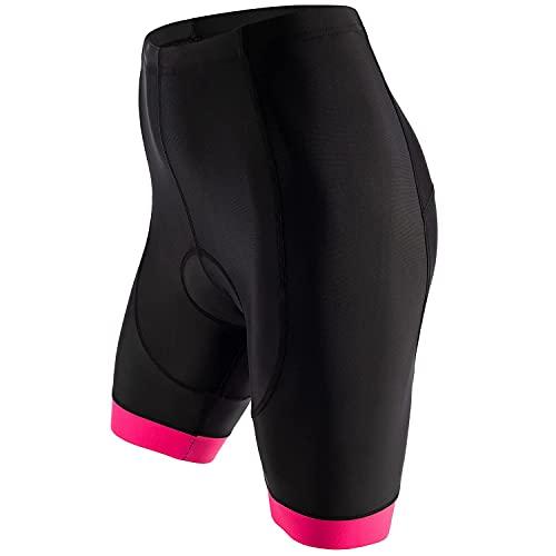 Xyklos® Fietsbroek voor dames – fietsbroek voor optimaal rijplezier – fietsbroek met perfecte pasvorm – pijn door onze…