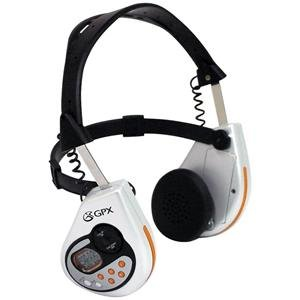 Gpx Hdt4004sp Sports Digital-tune Am/fm Stereo Headphone Radio With Lcd Clock