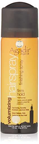 AGADIR Argan Oil Volumizing Hair Spray Firm Hold, 1.5 Oz