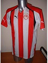Puma Olympiakos Rivaldo Brasil Grecia Adulto Grande Siemens Camiseta Jersey fútbol Barcelona AC Milan Olympiacos Griego
