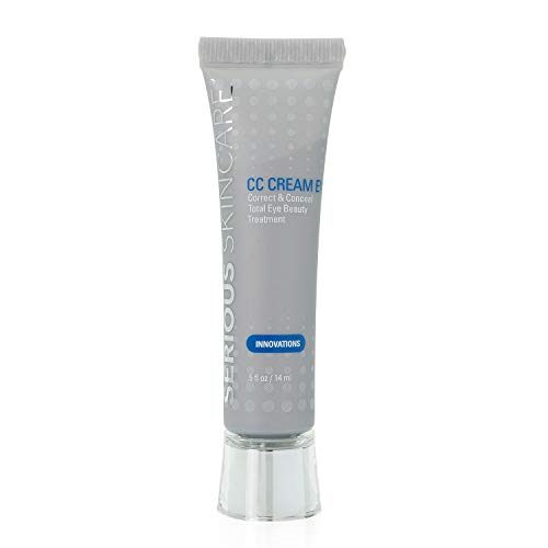 Serious Skincare CC Cream Eye Correct & Conceal Beauty Treatment, 0.5 Ounce