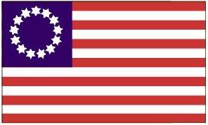3'x5' Betsy Ross 13 Stars American FLAG