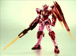 The Robot Spirits [SIDE MS] - Mobile Suit Gundam 00 : A wakening of the Trailblazer - OO Qan(T) (Trans-Am ver.) by Bandai