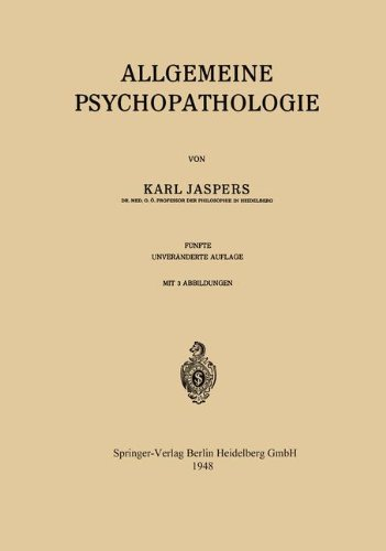 Allgemeine Psychopathologie  [Jaspers, Karl] (Tapa Blanda)