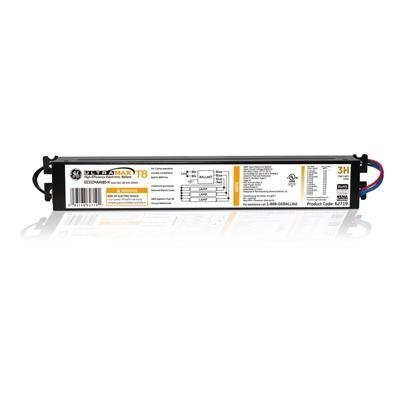 (GE 62719 GE332MAXP480-H 3-Lamp F32T8 480V Electronic - High Efficiency Multivolt Instant Start Fluorescent Ballast )
