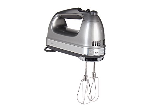 Cheapest Prices! KitchenAid KHM7210 7-Speed Digital Hand Mixer with Turbo Beater II Accessories